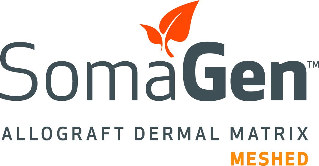 SomaGen™ Meshed, Allograft Dermal Matrix